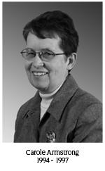 Carole Armstrong, 1994-1997