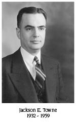 Jackson E. Towne, 1932-1959