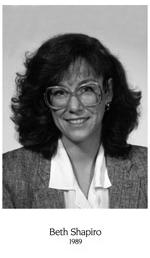 Beth Shapiro, 1989