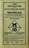 1920, Official Road Map (Cover image)