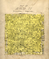 Map of Almena Township thumbnail