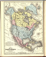 Map of North America thumbnail image