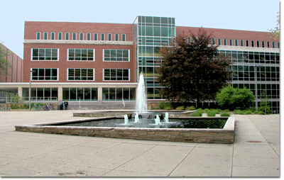 Main Library building