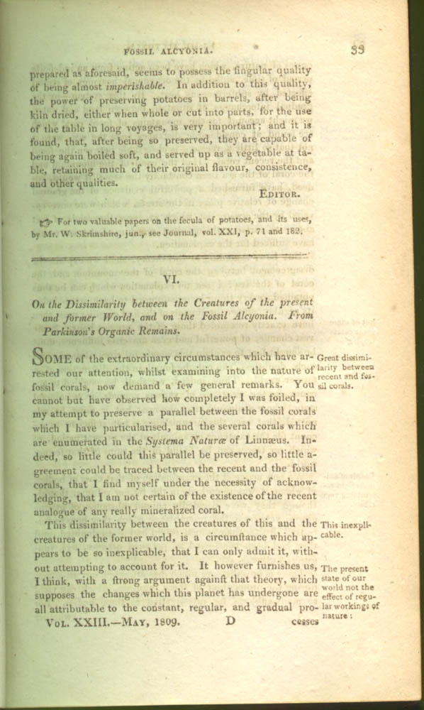 Page 33 of The Journal of Natural Philosophy, Chemistry, and the Arts, 1809