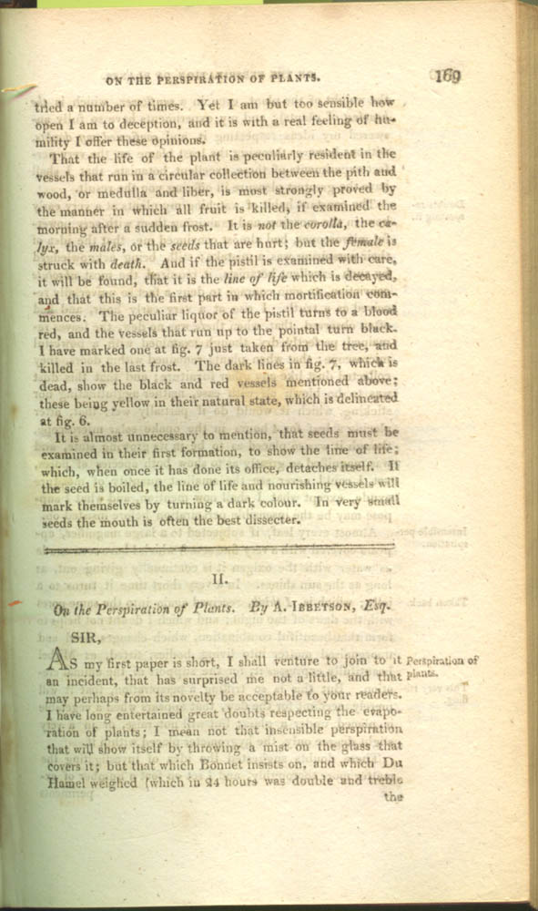 Page 169 of The Journal of Natural Philosophy, Chemistry, and the Arts, 1809