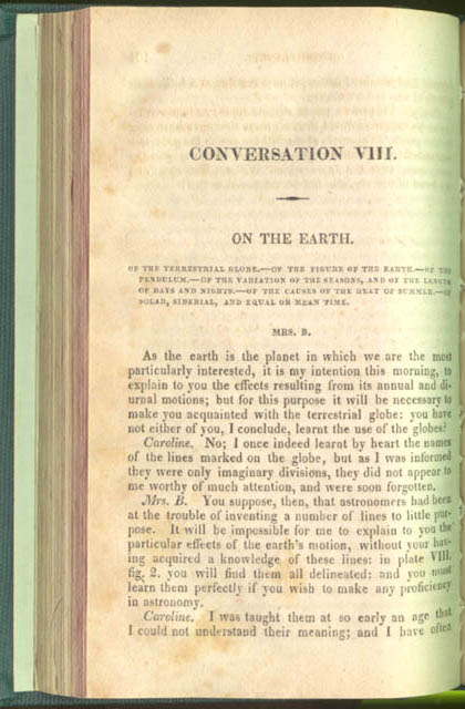 Page 102 of Conversations on Natural Philosophy... by Jane Haldimand Marcet