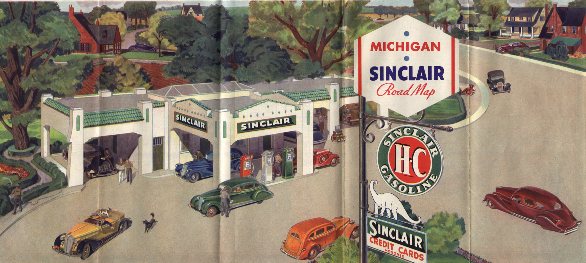 Part 6: The Rise and Fall of Oil Company Road Maps | Michigan Road Company Road Maps on company mission, company leadership, company registration, company goals, strategy map, company gardens map, company resources, company management, company department map, company art,