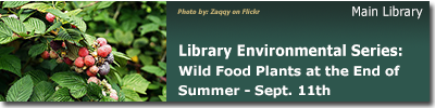 LEC: Beal Botanical Garden Tours:  Wild Food Plants at the End of Summer