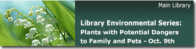 LEC: Plants with Potential Dangers to Family and Pets