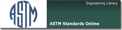 ASTM Standards Online