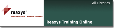 Reaxys training online