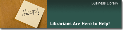 Helpful Business Librarians
