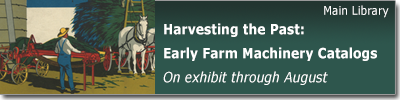 Harvesting the Past: Early Farm Machinery Catalogs