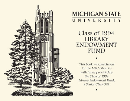 Class of 1994 Library Endowment Fund bookplate
