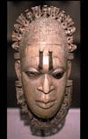 an African mask; Photo credit: