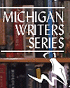 logo for the Michigan Writers series; image is from library website