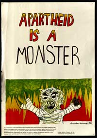 Apartheid is a Monster