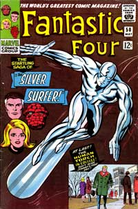 cover of Fantastic Four #50, 1966